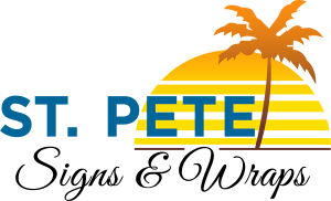 Vinyl Signs, Banners, Murals, Lettering, Clings, & More st pete logo 300x182